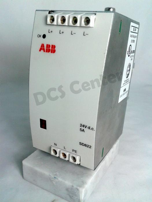 ABB  Advant  800xA Power Supply Module (3BSC610038R1) Alt# SD822 | Image