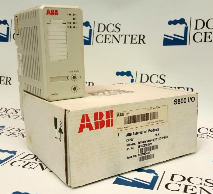 ABB  Advant  800xA Redundant FCI (CI820V1) | Image