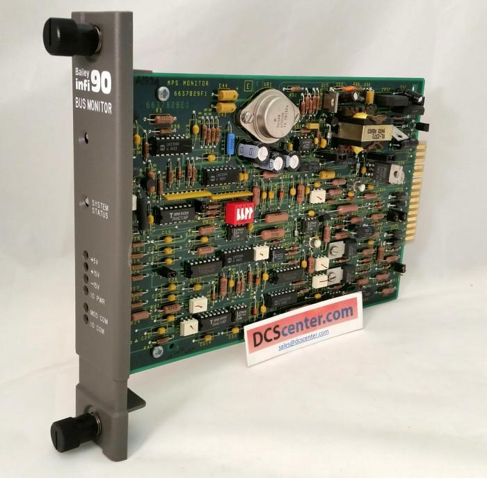 ABB Bailey Infi 90 Bus Monitoring Module (6637830G1) | Image