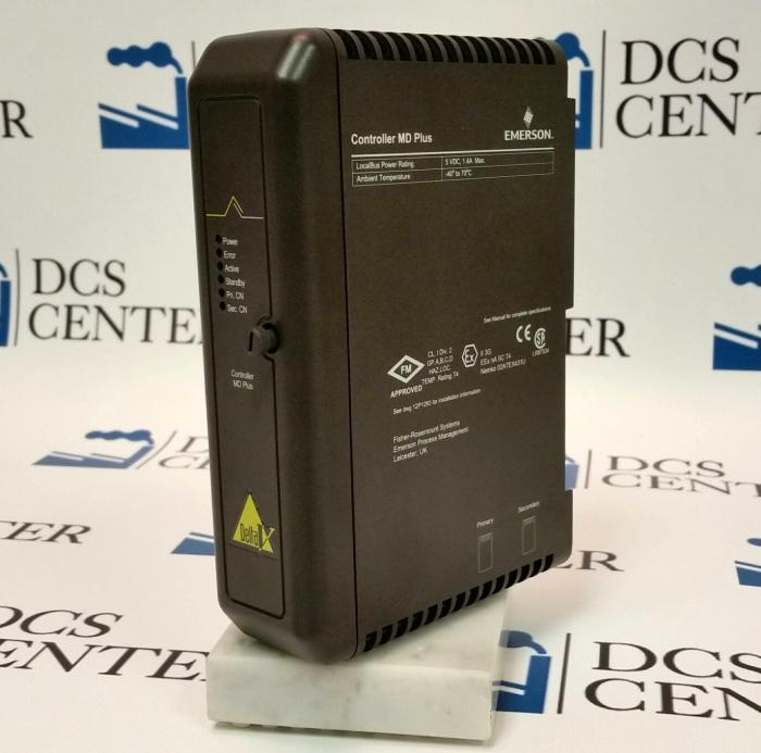 Emerson DeltaV MD Plus Controller (VE3006) Alt# KJ2003X1-BB1 and 12P3439X012 | Image