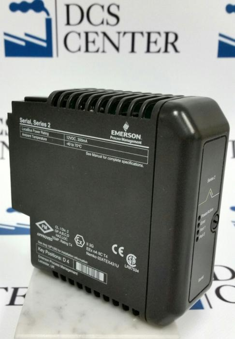 Emerson DeltaV Serial Interface (VE4006P2) Alt# KJ3241X1-BA1 and 12P2506X062 | Image