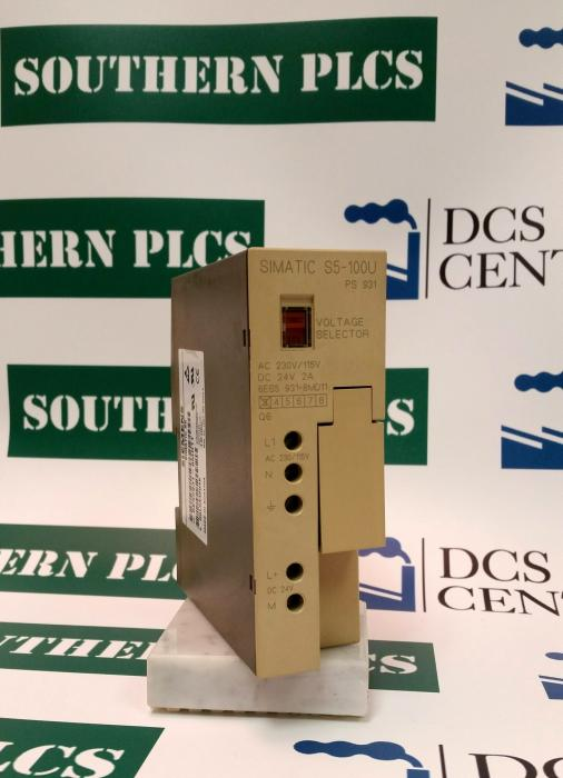 SIEMENS | Power Supply - PS931 2A | SIMATIC S5 | Image