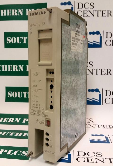 SIEMENS | Power Supply - PS951 | SIMATIC S5 | Image