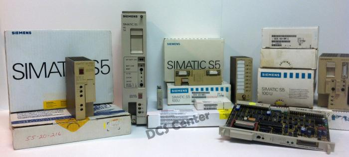 Siemens - Simatic S5 - 8SX8501-0AS01