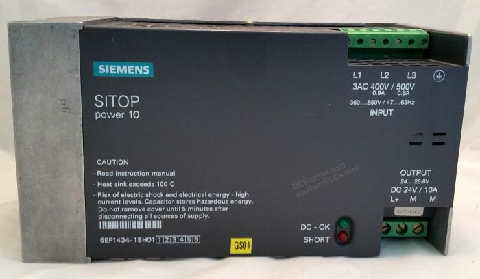 SIEMENS | 6EP1434-1SH01 | SITOP Power Supply  | SIMATIC S7 | Image
