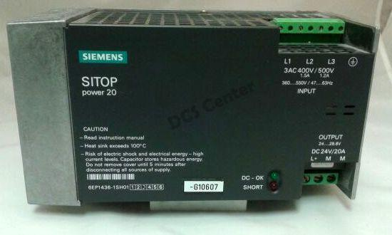 SIEMENS | 6EP1436-1SH01 | SITOP Power Supply  | SIMATIC S7 | Image