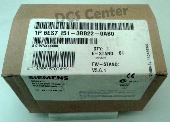 SIEMENS | 6ES7151-3BB22-0AB0 | Interface Module  | SIMATIC S7 | Image