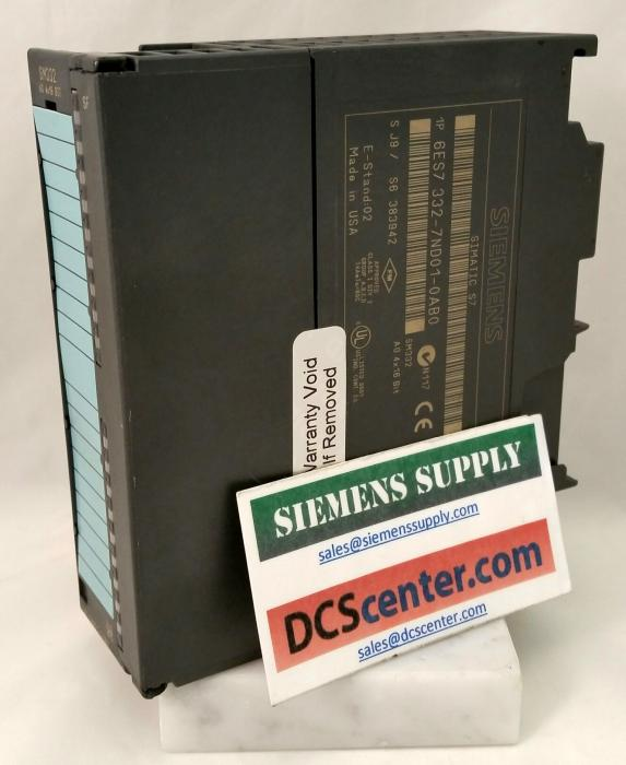 SIEMENS | 6ES7332-7ND01-0AB0 | Analog Output Module  | SIMATIC S7 | Image