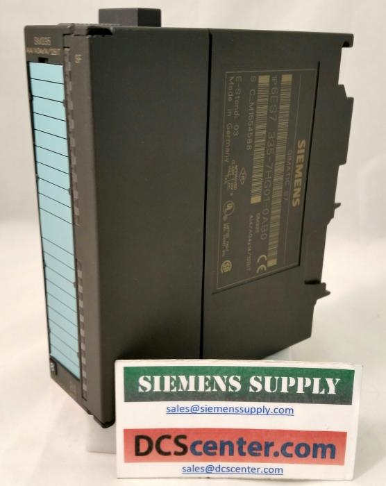 SIEMENS | 6ES7335-7HG01-0AB0 | Analog Input/Output Module  | SIMATIC S7 | Image